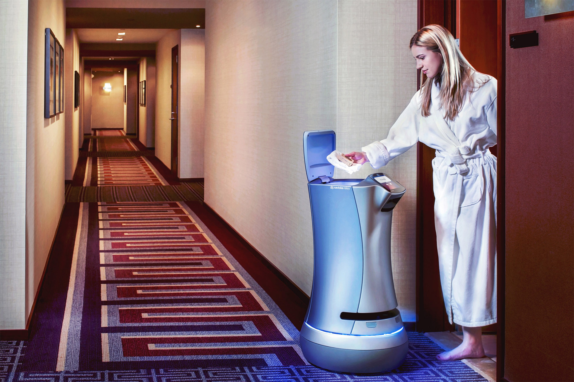 Meet Boltr, Your Friendly Hotel Delivery Bot